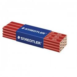 Staedtler Carpenters Pencils 148 50, tesařská tužka tvrdá, 12 ks