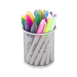 Drátěný program, kalíšek velký na tužky stříbrný