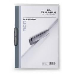 Durable 2260, rychlovazač Swingclip A4, prezentační desky s výklopným klipem