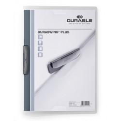 Durable 2290, rychlovazač Duraswing A4, prezentační desky s výklopným klipem