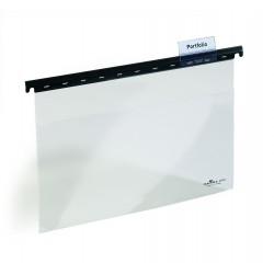 Durable 2565, Závěsné desky pro děrované dokumenty s průhlednou přední stranou