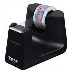 Tesa Easy Cut Smart, stolní odvíječ na lepící pásky černý