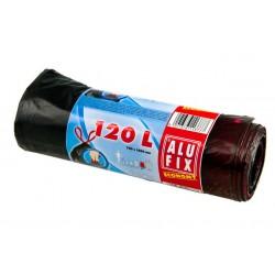 Alufix Odpadkové pytle Economy na roli 64x70 cm zatahovací, objem 60 litrů, 10ks
