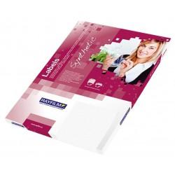 Rayfilm R0502 bílé matné PET laser etikety A4, 100 listů