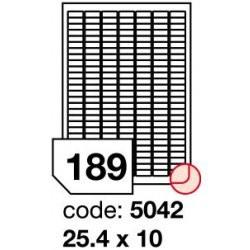 Rayfilm R0102 Odnímatelné bílé matné etikety A4, 300 listů