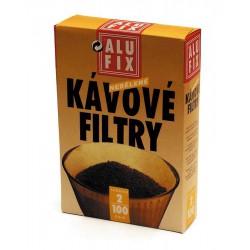 Kávový filtr č.2, balení 100 ks