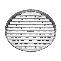Tác na gril Alu folie hranatý, 34x22 cm, balení 5 ks