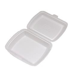 Menu box 2-dílný bílý 241x207x69 mm, balení 125 ks