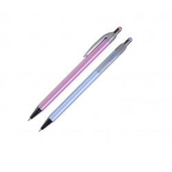Kuličkové pero Spoko Stripes, extra tenký mikrohrot