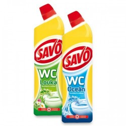 SAVO WC čistič, 750 ml