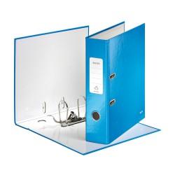 Pákový pořadač Leitz 180° WOW, metalická modrá, šíře hřbetu 80 mm