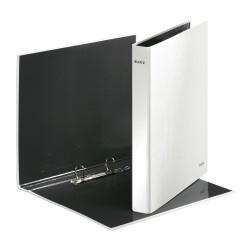Pořadač dvoukroužkový Leitz WOW, perleťová bílá, hřbet 40 mm