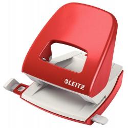 Celokovová stolní děrovačka Leitz NeXXt 5008, červená