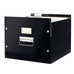 Krabice na závěsné desky A4 Leitz Click & Store, černá