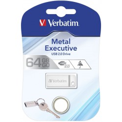 Flashdisk Verbatim Metal Executive USB 3.0 Drive 64GB Zlatý