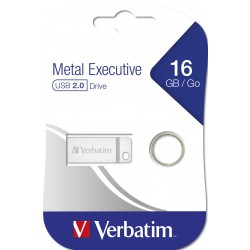 Flashdisk Verbatim Metal Executive USB 2.0 Drive 32GB Stříbrný