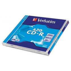 Verbatim DataLife Plus Disk CD-R 52x, 700MB classic jewel box, 10ks v bal.