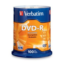Verbatim DataLife Plus Disk DVD-R 16x, 4.7GB, spindl 100ks