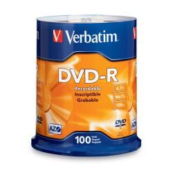 Verbatim DataLife Plus Disk DVD-R 16x, 4.7GB, spindl 100ks