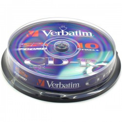 Verbatim Disk CD-R 52x Extra Protection, 700MB, spindl 10ks