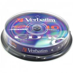 Verbatim Disk CD-R 52x Extra Protection, 700MB, spindl 10ks