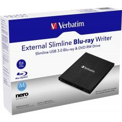 Externí CD/DVD Slimline vypalovačka Verbatim USB 2.0