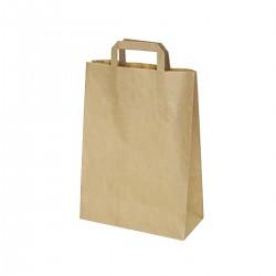 Papírová taška s uchem 220x100x300 mm