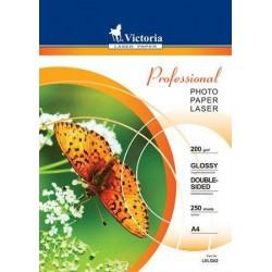 Victoria foto papír pro inkoustové tiskárny lesklý A4, 240g, 50 listů