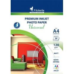 Victoria foto papír pro inkoustové tiskárny lesklý A4, 180g, 50 listů
