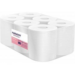 Harmony Professional 110124,  dvouvrstvé papírové ručníky ZZ skládané, bílé, 3140 ks