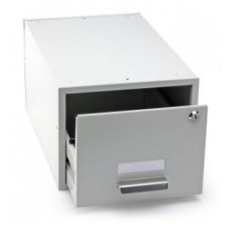 DURABLE 3351, uzamykatelná kovová kartotéka na karty formátu A4