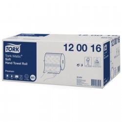 Tork Matic 120016, jemné papírové ručníky v roli, H1 (náhrada 290016), karton 6 rolí