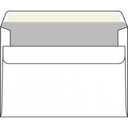Poštovní obálka C6 samolepící, bílý ofset, 1000 ks