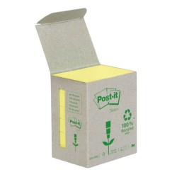 3M Post-it® recyklovaný bloček 6531B, rozměr 51x38 mm, 6x100 lístků