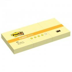 3M Post-it® bloček 653Y, rozměr 51x38 mm, 3x100 lístků