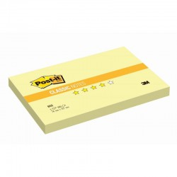 3M Post-it® bloček 655Y, rozměr 76x127 mm, 100 lístků