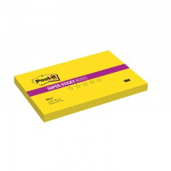 3M Post-it 655 S, samolepící bločky silně lepící, 76x127 mm, 6x90 lístků
