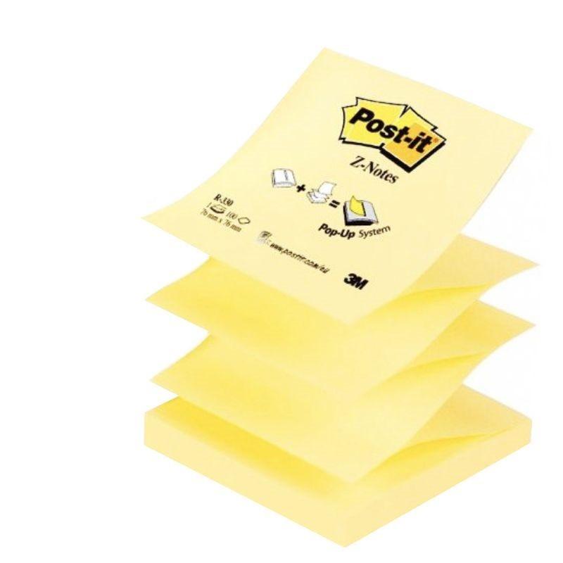 Post-it® bloček R330 ve tvaru Z, 76x76 mm, 100 lístků