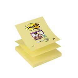 3M Post-it samolepící bločky R330 žlutá ve tvaru Z, 76x76 mm, 100 lístků