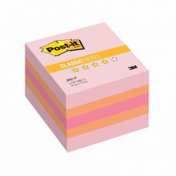 3M Post-it samolepící kostka 2051 Pink, rozměr 51x51 mm, 400 lístků