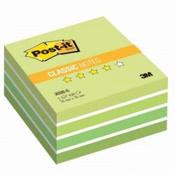 3M Post-it samolepící kostka 2028 Green, rozměr 76x76 mm, 450 lístků