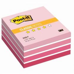 3M Post-it samolepící kostka 2028 Pink, rozměr 76x76 mm, 450 lístků