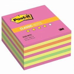 3M Post-it samolepící kostka 2028 Neon Pink, rozměr 76x76 mm, 450 lístků