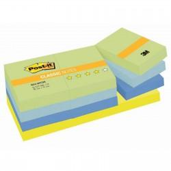 3M Post-it samolepící bloček 653-MTDR, rozměr 51x38 mm, 12x100 lístků