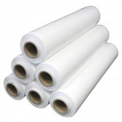 Ruční strečová fólie bílá fixační, 50cm šíře, váha 2,1 kg