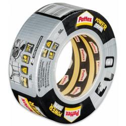 Pattex Power Tape, extra silná lepící páska stříbrná, 50 mm x 50 m