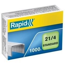 Drátky Rapid Standard 21/4, obsah 1000 ks