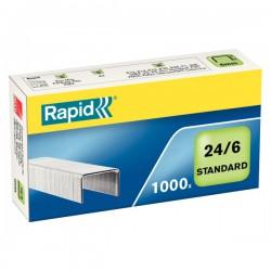 Drátky Rapid Standard 24/6, obsah 1000 ks