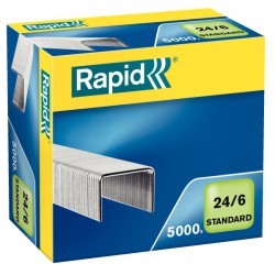 Drátky Rapid Standard 24/6, obsah 5000 ks