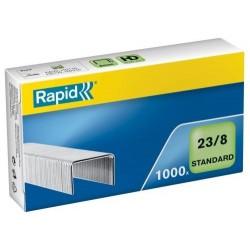 Drátky Rapid Standard 23/8, obsah 1000 ks